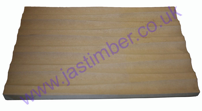Long-Wave Routered Patterned 18mm MDF Board - width
