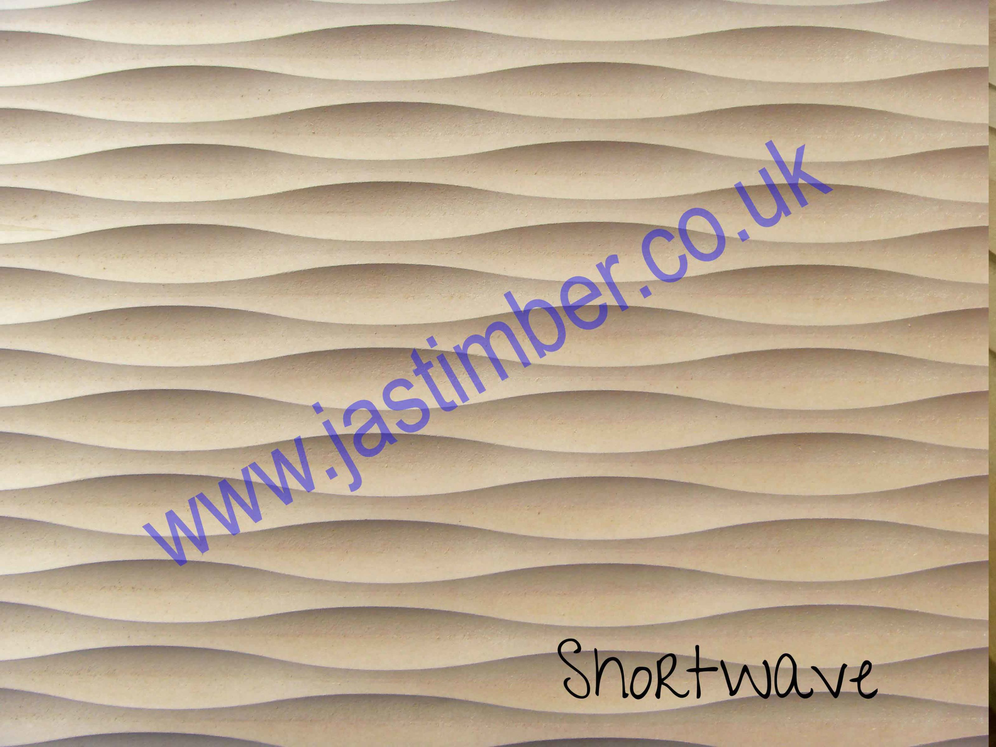 18mm Shortwave Mdf Waveboard 8x4