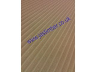 Photography of MDF - IN the GROOVE - WAVEBOARD - Routered Pattern 18mm Medium Density Fibreboard 8x4