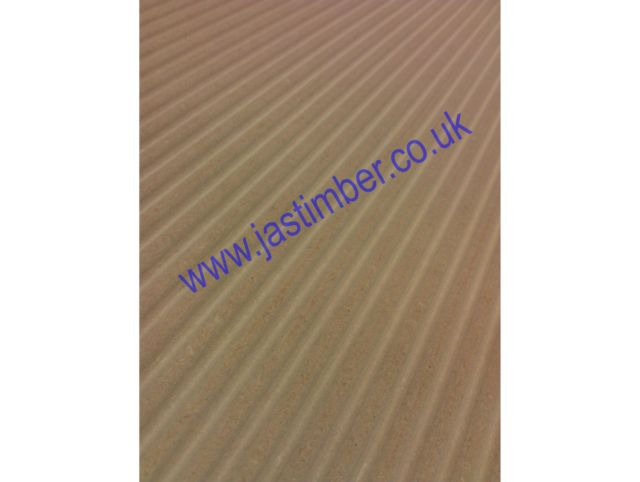 MDF - In the Groove - Waveboard - Routered Pattern 18mm Medium Density Fibreboard 8x4
