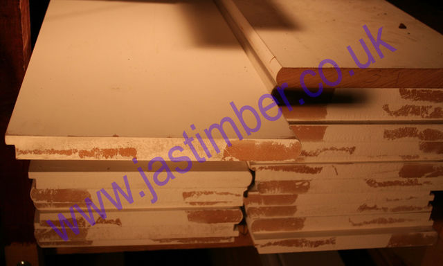 "MDF 12"" CILL [25x294mm] Nosed + Tongued WHITE PRIMED"