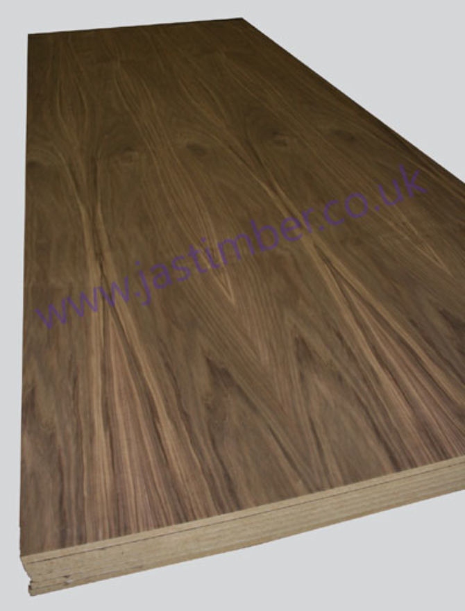 10x4 18mm Walnut MDF