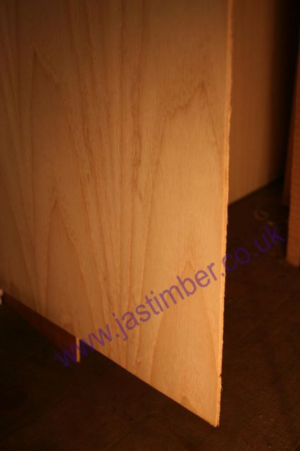 "9mm PLYWOOD White ASH-1-Side (8x4"" - 2440x1220x9mm)"