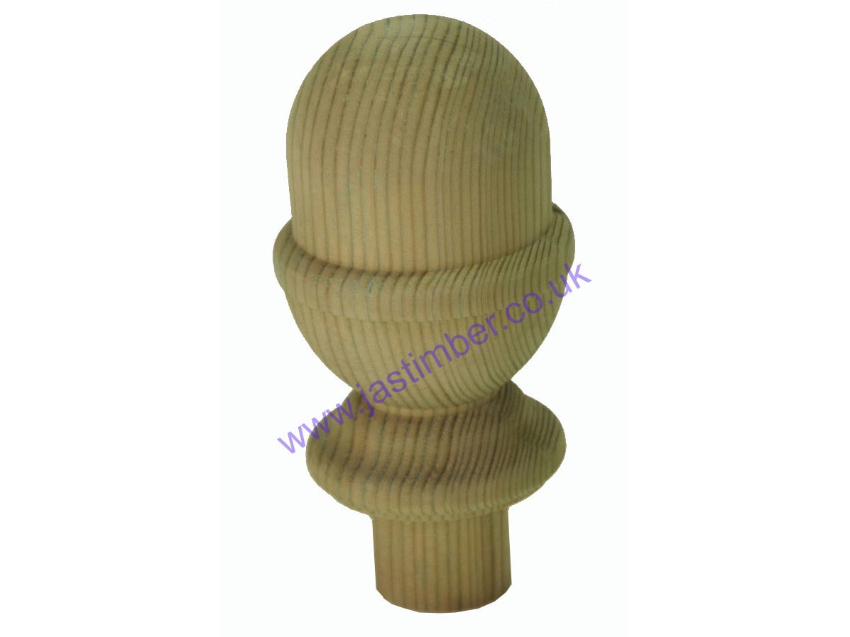 Treated Newel Cap - Acorn - DEAC from JAS Timber