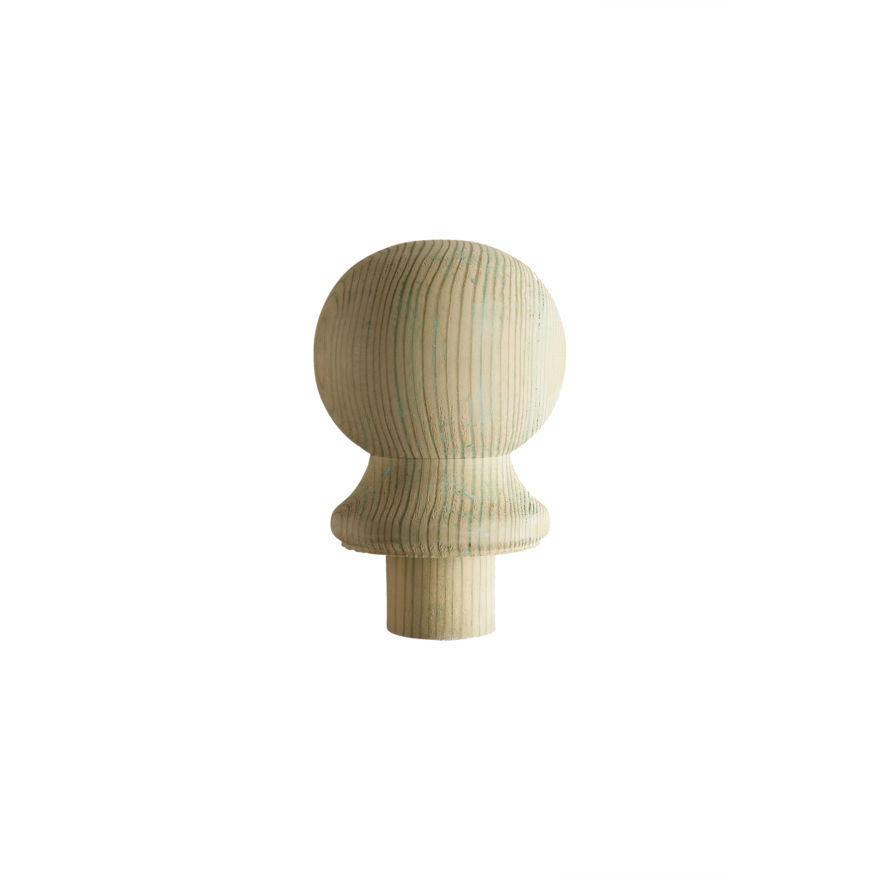 Treated Ball Newel Cap - DEB - Cheshire Mouldings