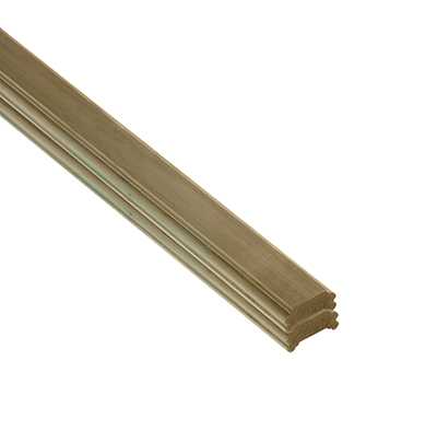 Treated DECK HANDRAIL 38x75x1800mm - DHNEW1.8 Cheshire Mouldings