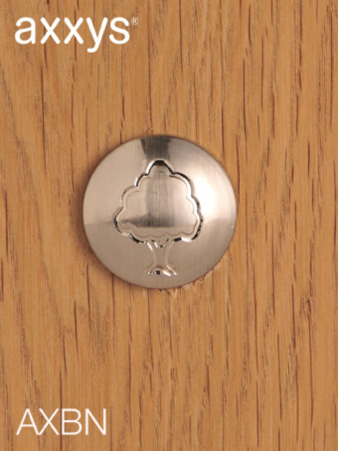 Axxys Nickel Cover Button - AXBN