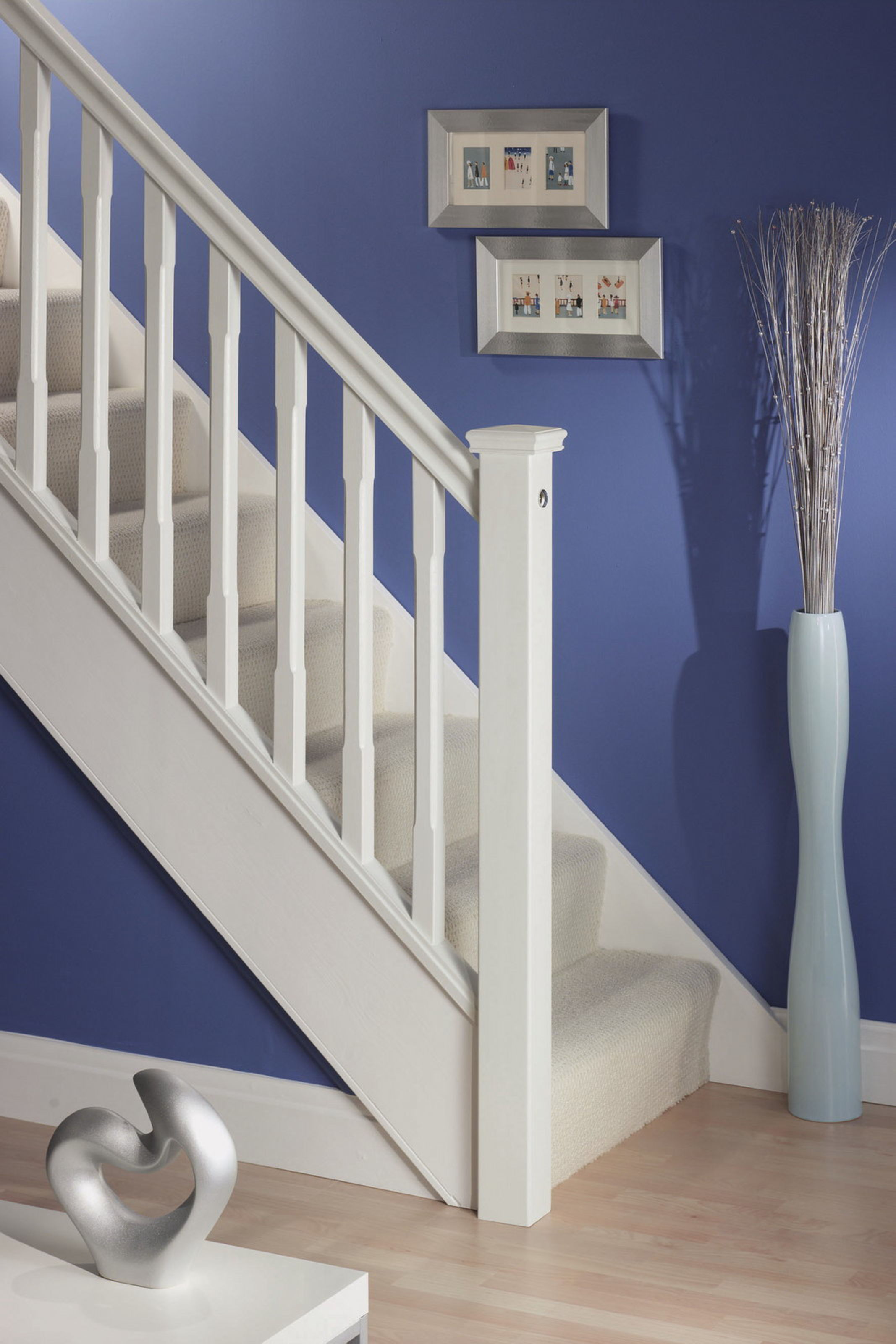 Benchmark™ White Primed Stairparts
