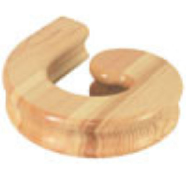 Pine Handrail Right Hand Volute - Cheshire Mouldings V30RHP