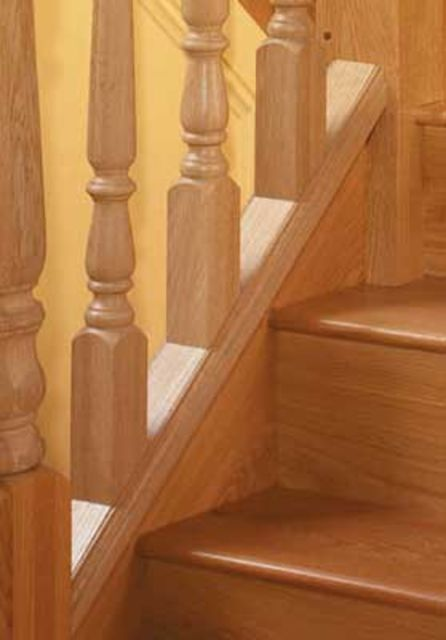 Warwick Pine Baserail - grooved 55mm - Cheshire Mouldings