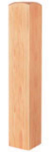 Warwick Pine Newel Base 115x115mm - WNB-P Cheshire Mouldings