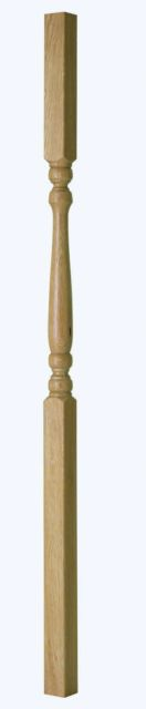 Oak 41mm Edwardian Spindle - ED90O & ED110O Cheshire Mouldings