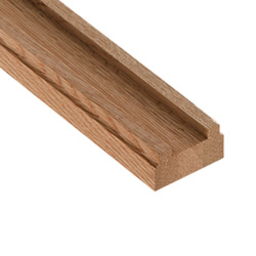 Oak Baserail (32x62mm Grooved 41mm) Cheshire Mouldings - BRO - 2.4M - 3.6M - 4.2M