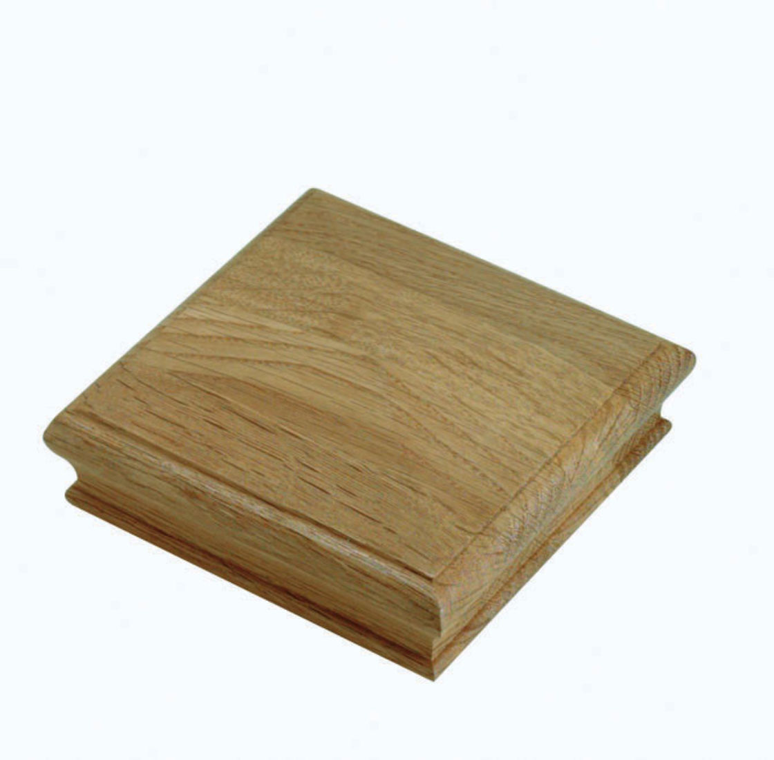 Oak Pyramid Newel Cap - FNCO Cheshire Mouldings®