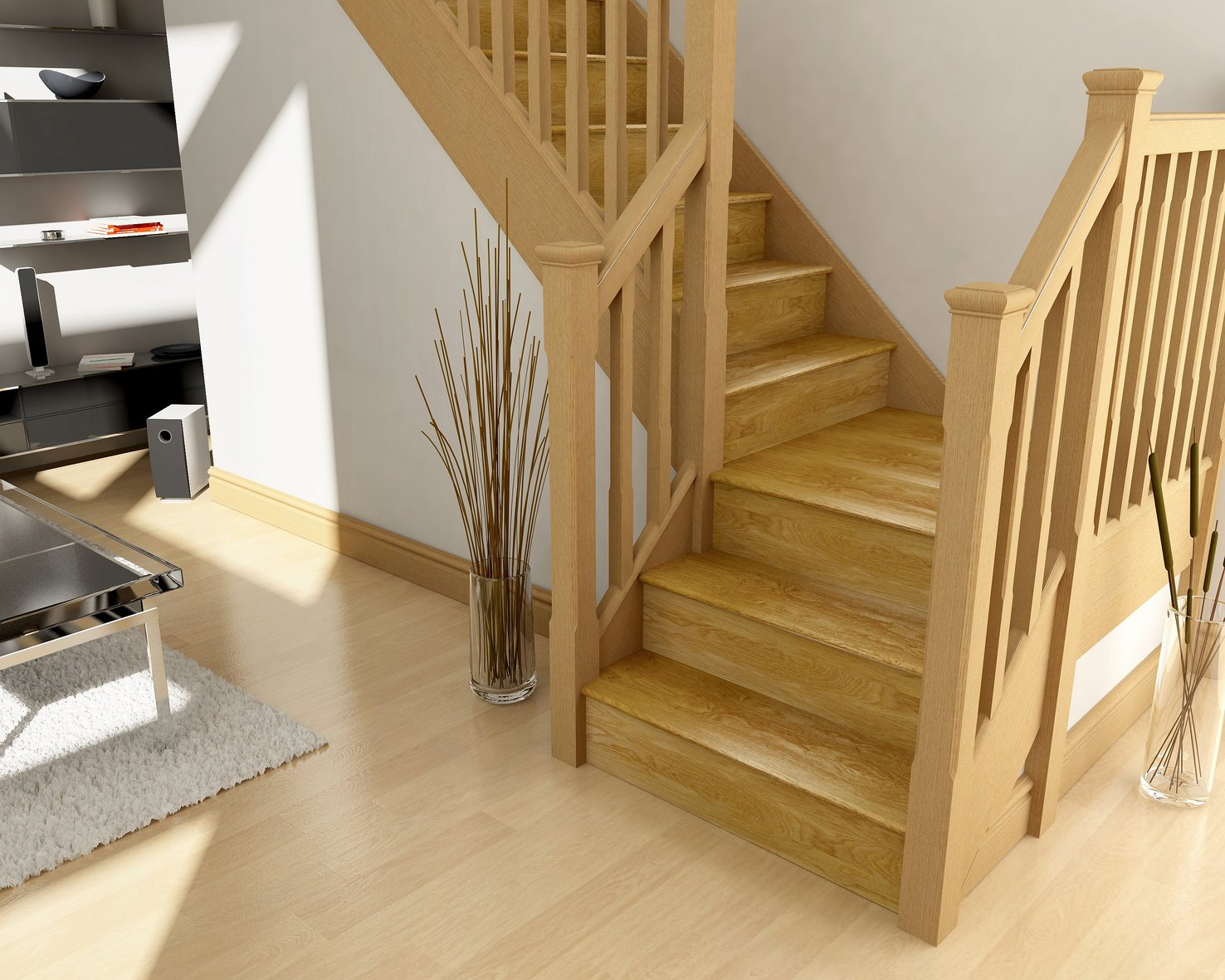 Transform your staircase with KLAD™ Oak Stair Cladding