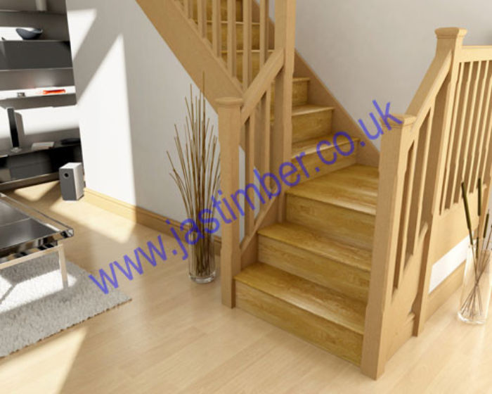 KLAD Oak Stair Cladding