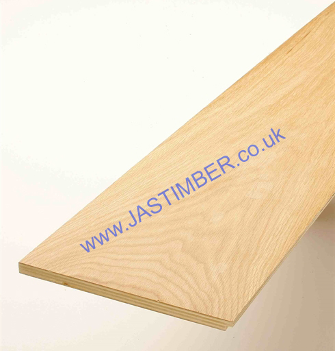 Photography of KLAD OAK STAIR RISER CLADDING - SCR-1000-O - SCR-1500-O - Oil Finished