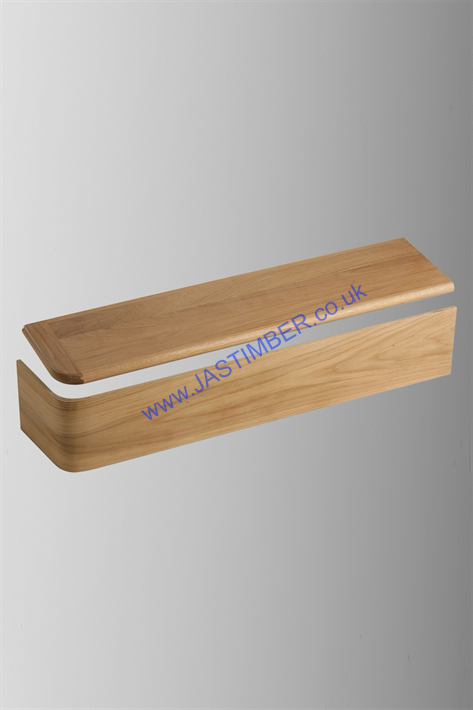 KLAD OAK STAIR BULLNOSE - SBN-1085-ORH - SBN-1085-OLH - Oil Finished