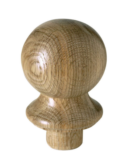 Oak Ball Newel Cap - CMC2O Cheshire Mouldings