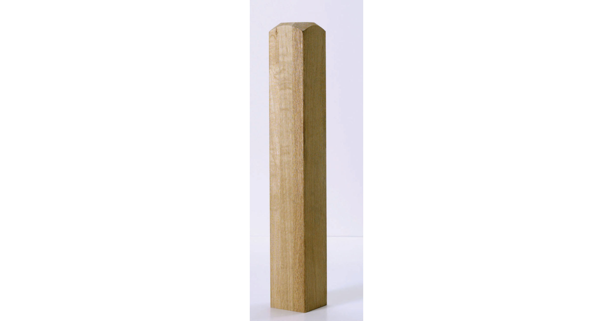Oak Newel Base - CMB615O