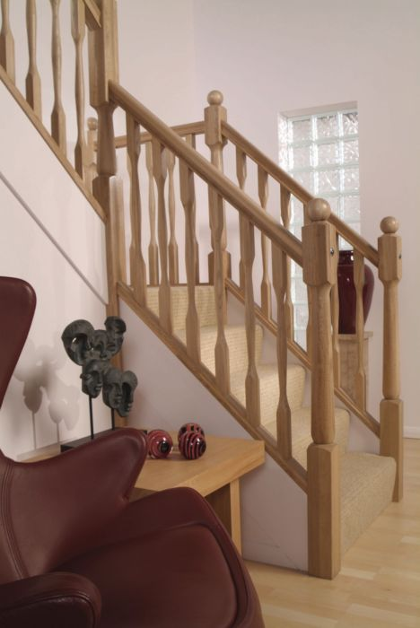 Quays Oak Stairparts - setting