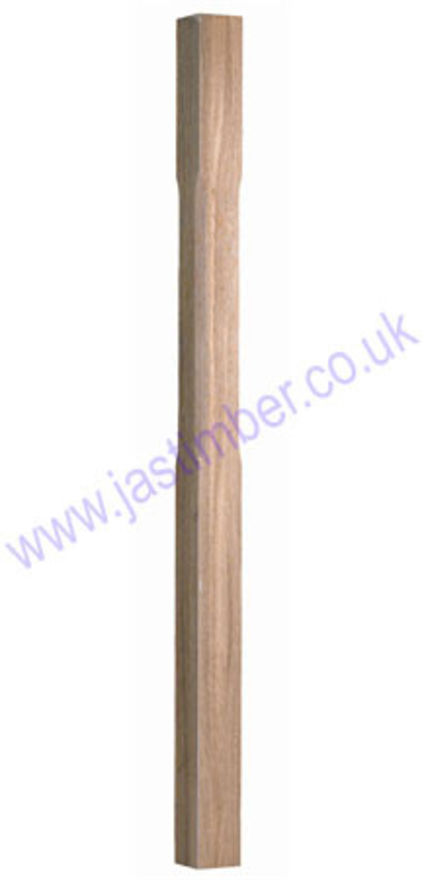 Benchmark Oak Newel - Stop-Chamfered ST1500O