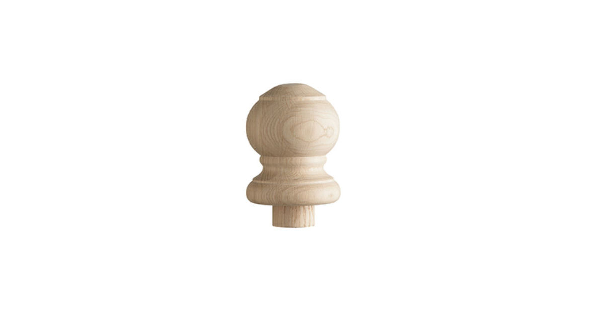 Oak Newel Caps