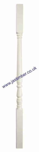 White Primed IS-W 41mm *Imperial* Spindles - Richard Burbidge
