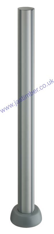Outdoor Fusion Aluminium Newel Post - Richard Burbidge LD502