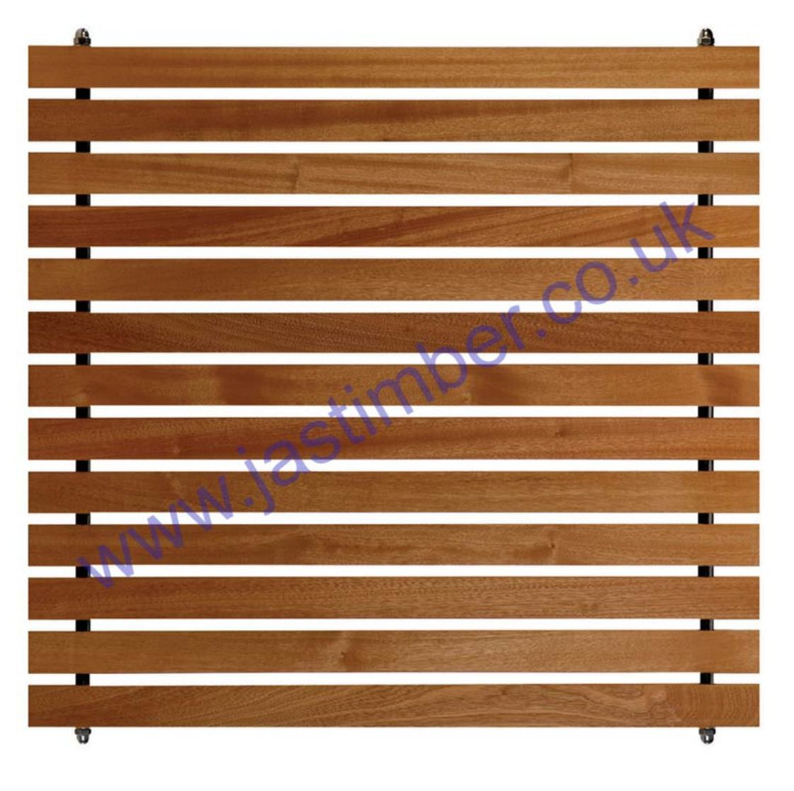 LD505 FUSION HARDWOOD SLATTED INFILL PANEL - 750x800x21mm