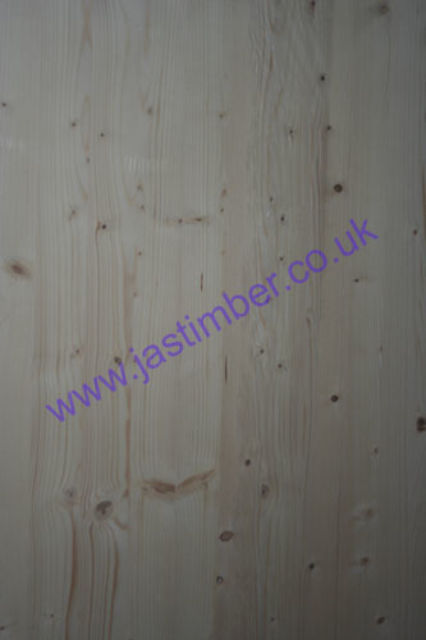 500mm Whitewood Pine Jointed Board (fin: 500x18mm) - Richard Burbidge®