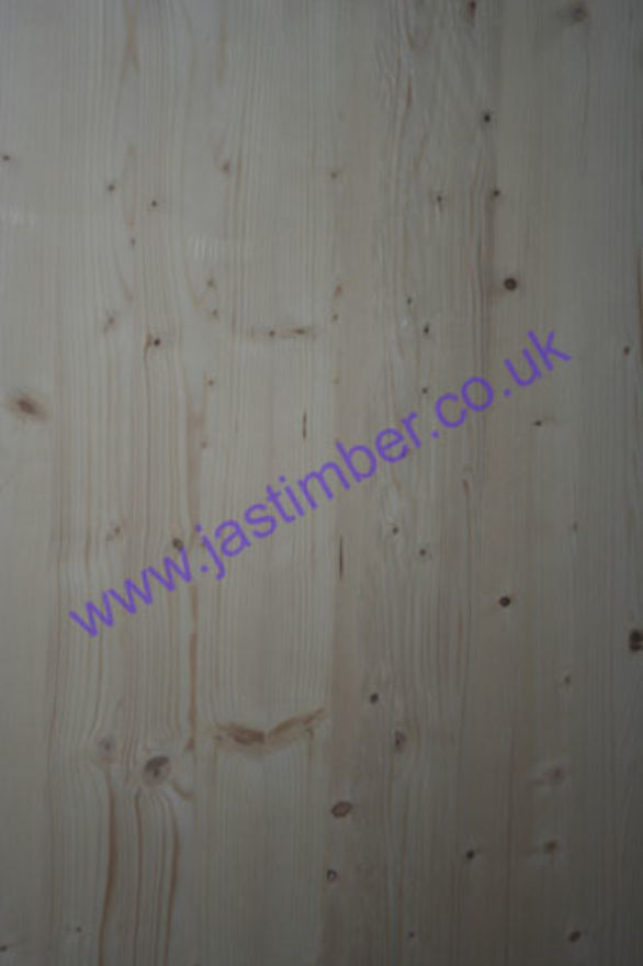 500mm Whitewood PINE Jointed Board (fin: 500x18mm) - RICHARD BURBIDGE