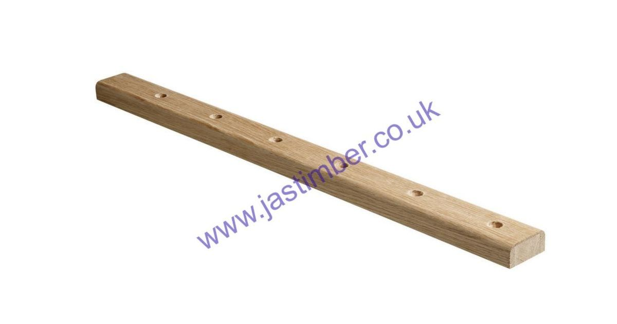 ELEMENTS® WHITE OAK RAKE BASERAIL - BRR2400WO - BRR3600WO - BRR4200WO