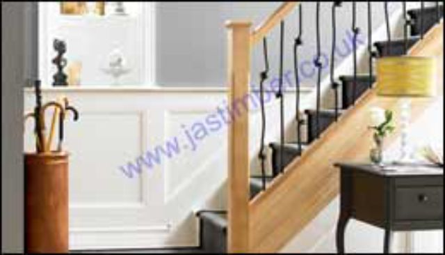 Elements™ Glazed Stair Parts