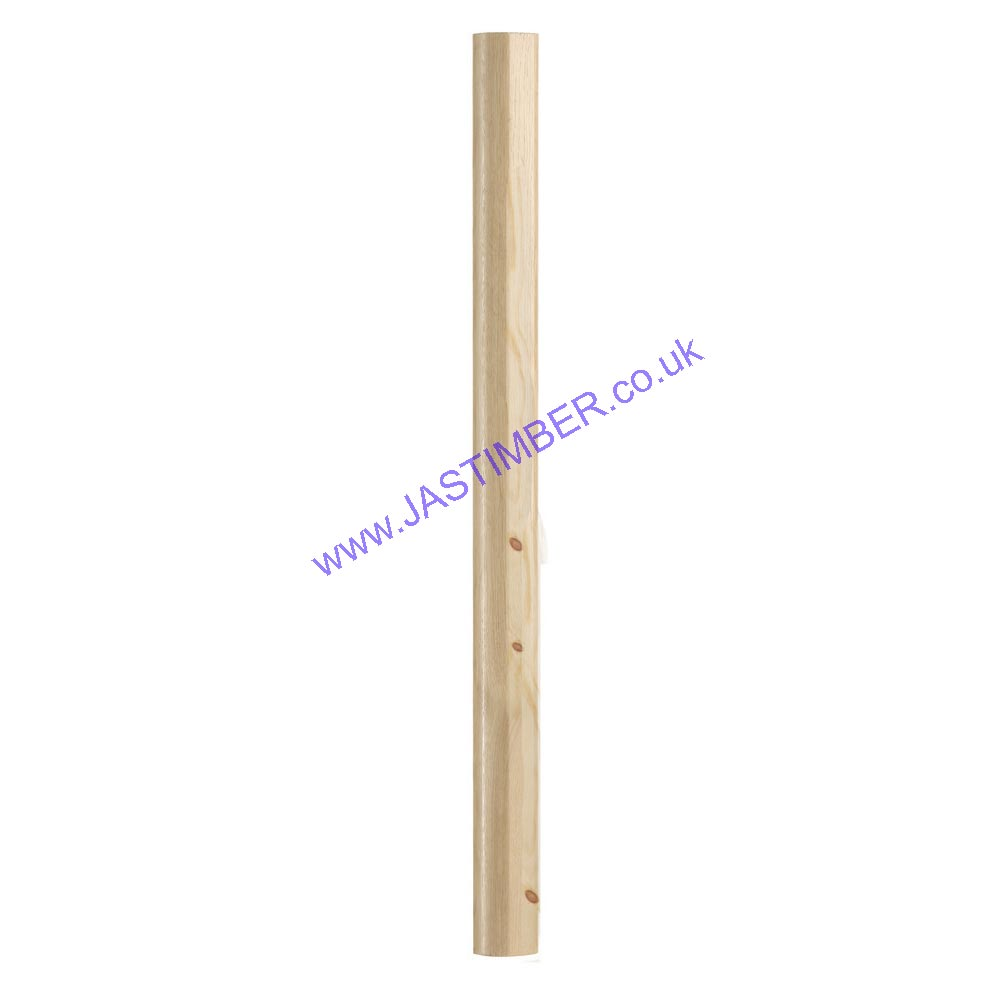 FUSION® RHR750PF PINE NEWEL - 750mm - Richard Burbidge