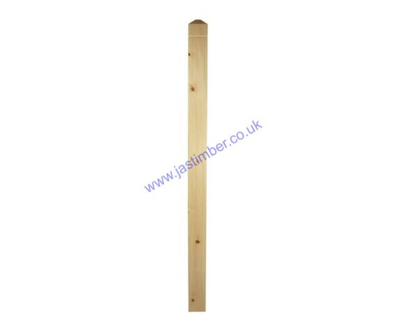 Richard Burbidge Hallmark - NP1 Newel Post FSC Pine - 1330x82x82mm