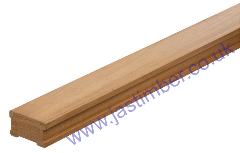 Richard Burbidge Domestic Hardwood Decking Baserail - LD755