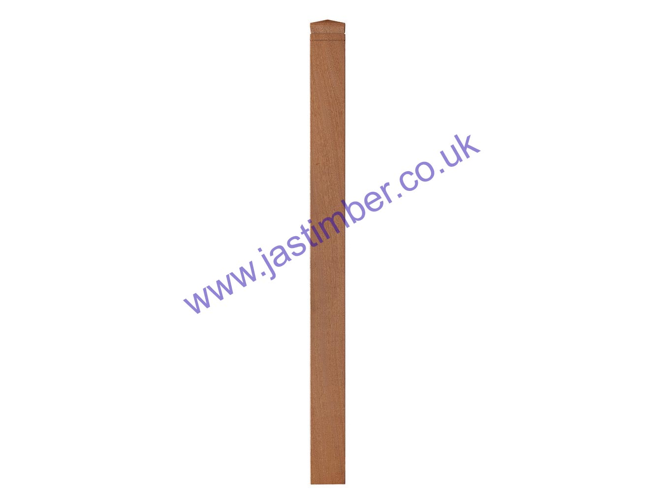 Richard Burbidge LD760 Hardwood 90mm Square Decking Newel