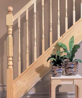 Burbidge 174 Trademark Pine Stairparts At Jas Timber