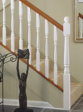 White-Primed™ Stair Parts