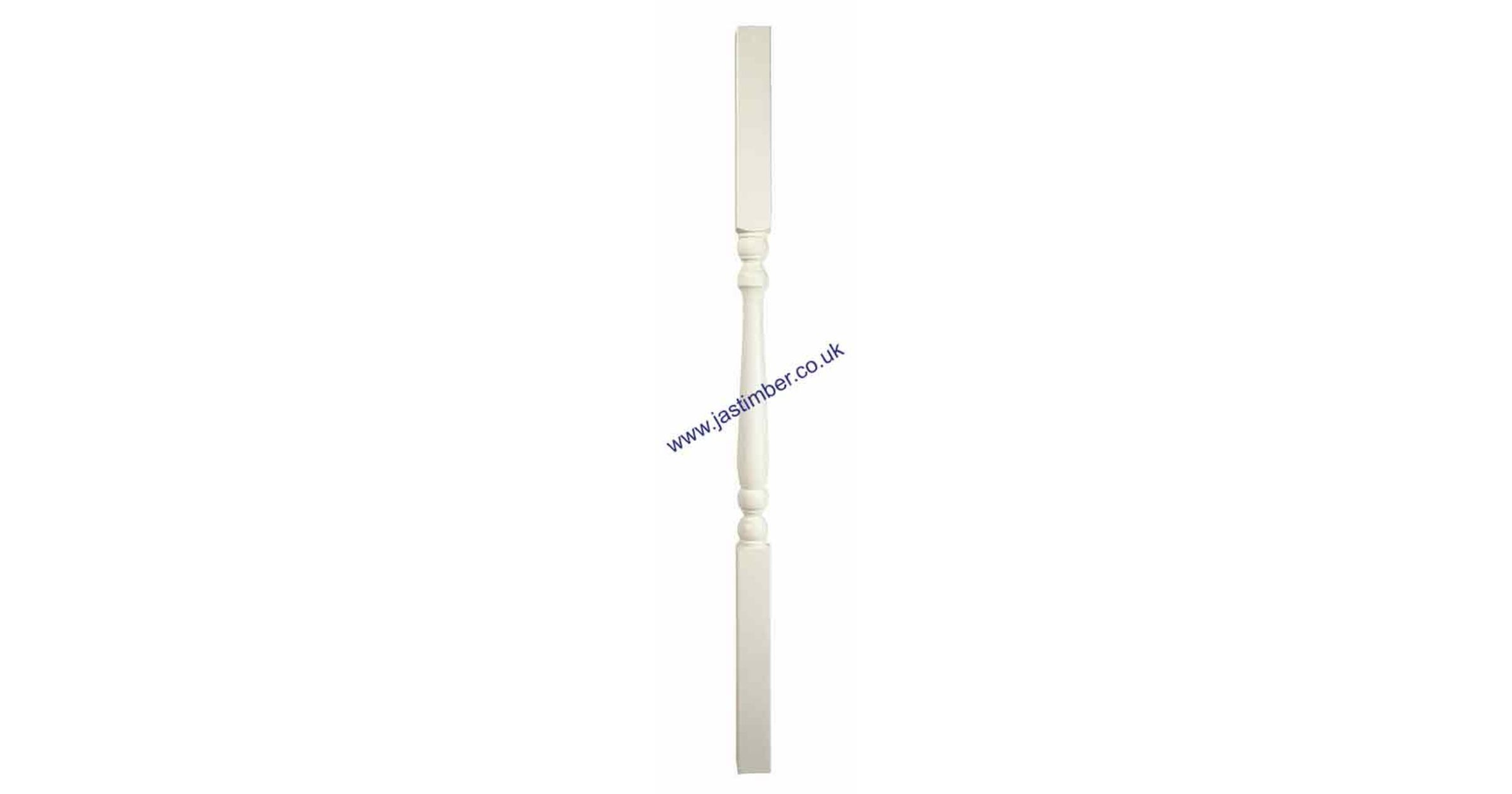 WHITE PRIMED CS-W 41mm *COLONIAL* SPINDLES - Richard Burbidge