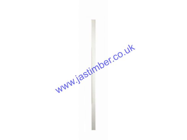 White Primed SC-W 32mm Stop Chamfered Spindle - Richard Burbidge