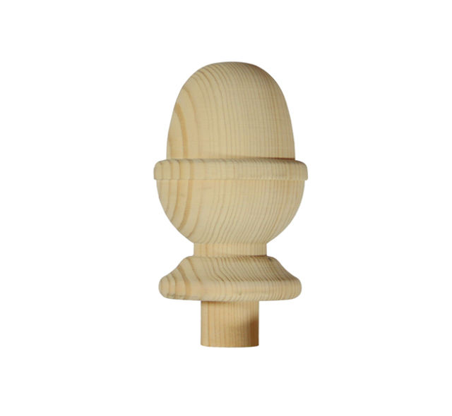 Trademark NC3/90P Pine 90mm Acorn Newel Cap - Richard Burbidge