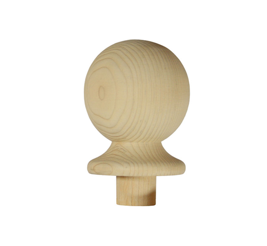 Trademark NC2/90P Pine 90mm Ball Newel Cap - Richard Burbidge