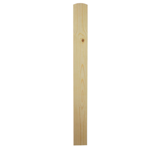 Trademark NBP Pine Newel Base - Richard Burbidge