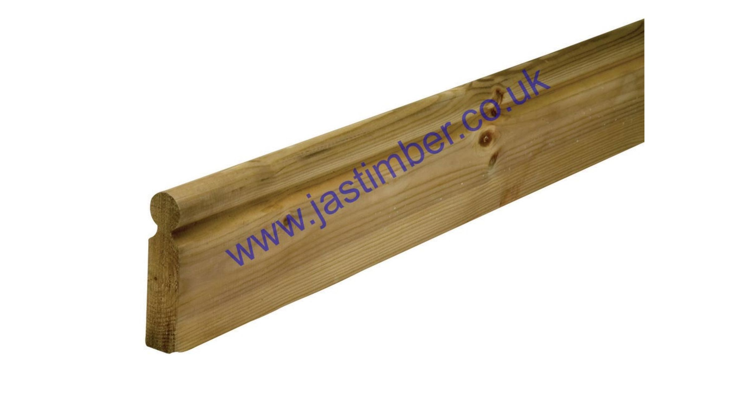 LD206 American Rail 120x27x1800mm Green Treated Softwood - Richard Burbidge