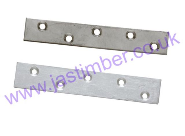 LD330 Stainless-Steel Flat Fixing Strap - Richard Burbidge (4 Pack)