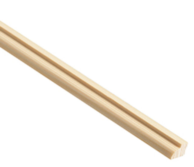 Ovolo Glass Bead - 2.4 M. x 9mm - 12mm - 15mm - 21mm - Pine Softwood