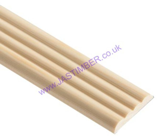 TM701 Pine Reed Mould - Cheshire Mouldings