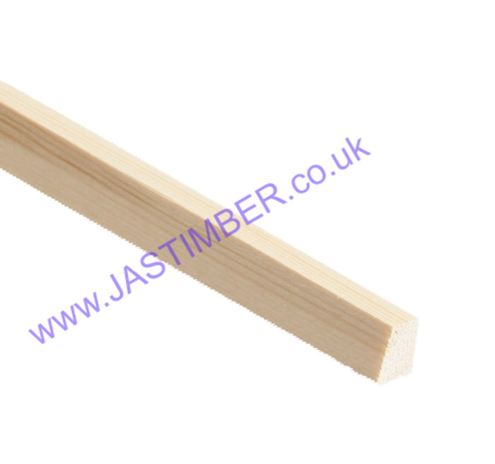 Wedge Beading Pine Moulding - TM903